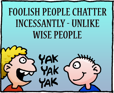 Image download: Foolish Chatter | Christart.com