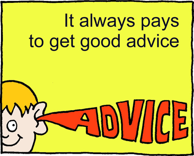 Image download: Get Advice | Christart.com
