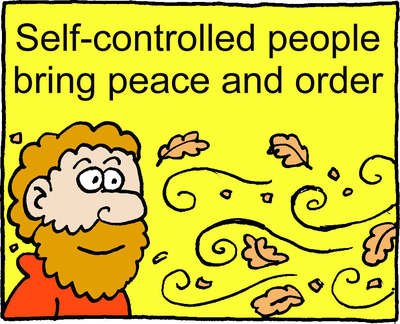 Image download: Peace and Order | Christart.com
