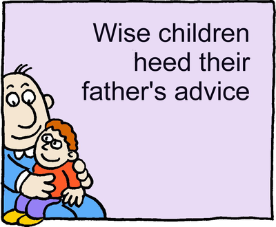 father s advice Being a stepdad - tips and advice for stepfathers from family lives (pdf,  dad ie - irish website for fathers and fathers-to-be covering a broad range of issues.