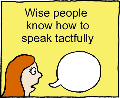 Image download: Speak Tactfully | Christart.com