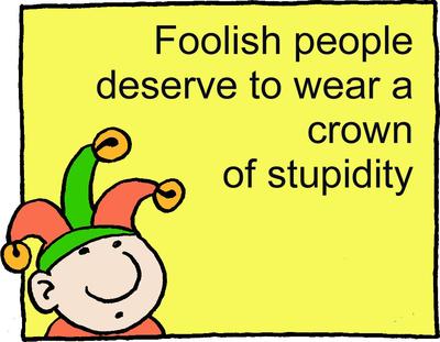 Image download: Foolish Crown | Christart.com