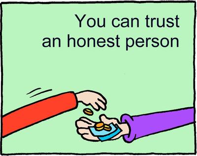 Image download: Honest Trust | Christart.com