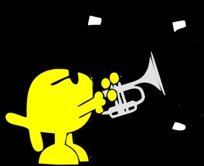 image download playing trumpet christart com rh christart com Clip Art Trumpet Notes Trumpet Player Clip Art