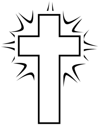 image black and white shining cross cross image christart com rh christart com cross country images clipart cross pictures clip art free