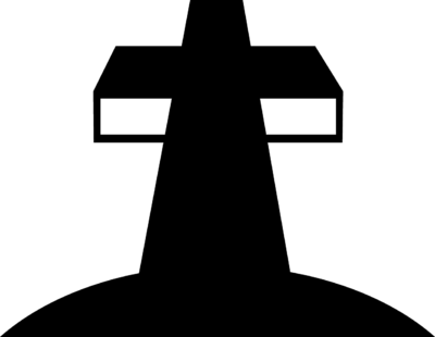 Black and White Big Cross
