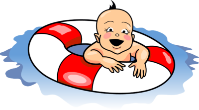 Image: Swimming Baby | Baby Clip Art | Christart.com