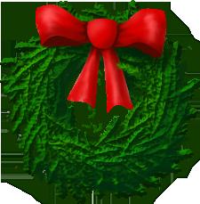 Christmas Wreath Clipart.Image Christmas Wreath Christart Com