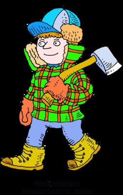 Image download: Lumberjack   Christart.com