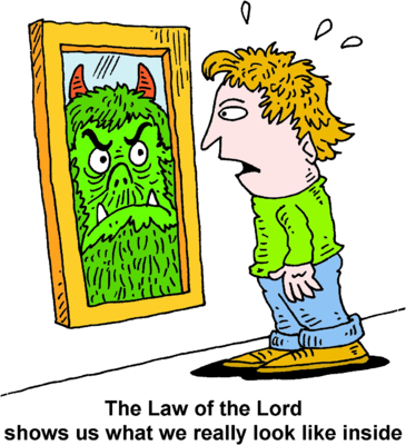 person looking in mirror clipart. man with monster reflection person looking in mirror clipart