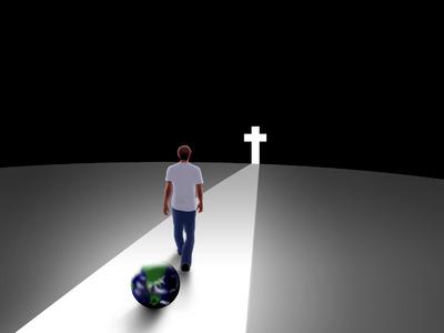 Image: World Behind Me | Cross Image | Christart.com