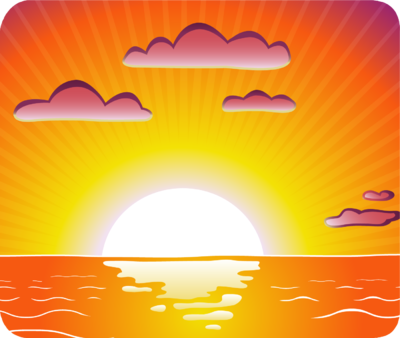 pin house cartoon sunset - photo #20