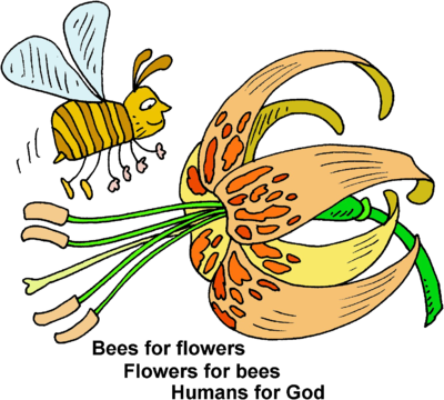 Bees for Flowers