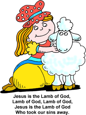 Jesus Is The Lamb Of God Clip Art