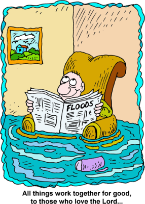 Image: House Flood Image   Christart.com