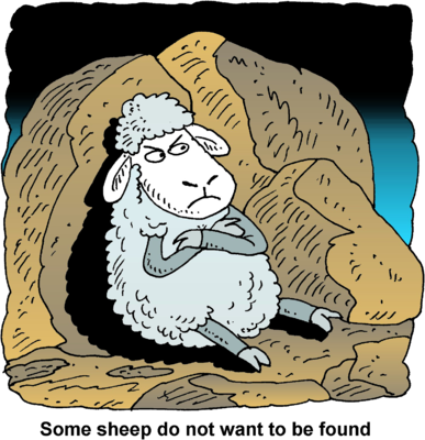 Image result for Jesus's lost sheep cartoons
