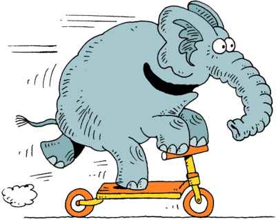 Elephant Scooter