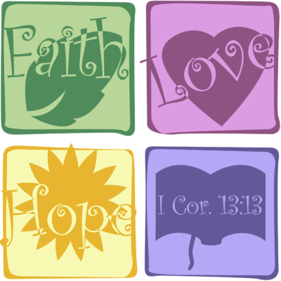 Faith Hope and Love | 1 Corinthians Clip Art - Christart.com