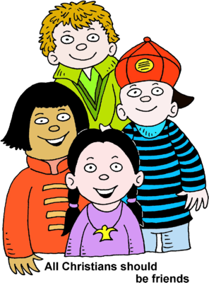 Image: Four Children Multiracial   Christart.com