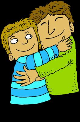 image father hugging son christart com rh christart com big hug clipart hug clip art images