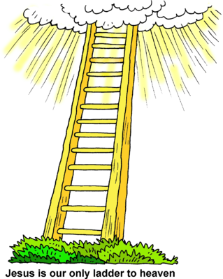 image ladder to heaven christart com clipart heaven mansions clip art heaven or hell
