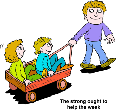 Image Dad Pulling Two Kids In A Wagon Christart Com