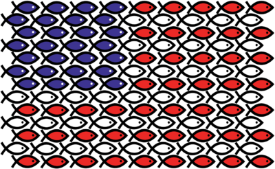Image christian fish flag 4th of july clip art for American flag fish
