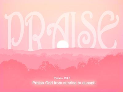 Image: Praise | PowerPoint Sermons | Christart com