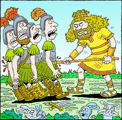 Image: Shamgar | Judges Clip Art | Christart.com
