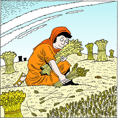 Ruth Gleaning Among the Sheaves