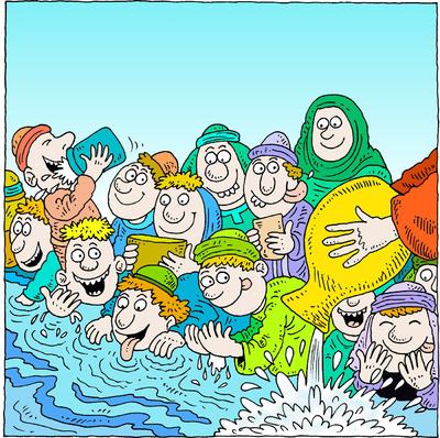 Elisha Healed Waters
