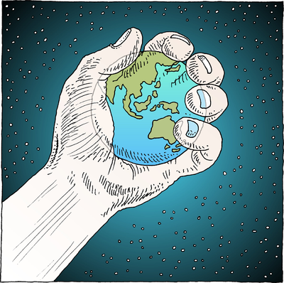 Image: World In Hand | Psalm Clip Art | Christart.com