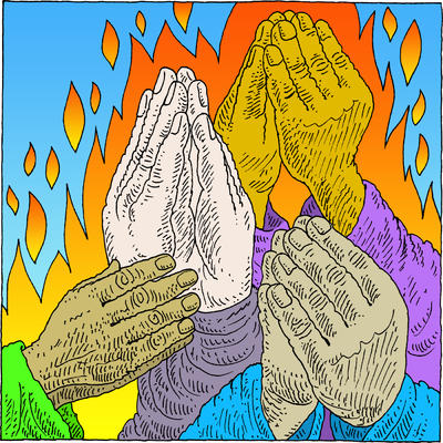 Image: How Pleasant it is for brethren to dwell in unity | Psalms Clip Art | Christart.com