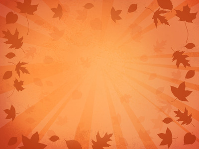 Image: Background 2 | PowerPoint Themes Blown Leaves ...