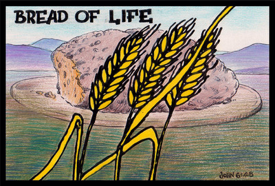 Image: Bread of Life | Names of Jesus PowerPoint Sermons