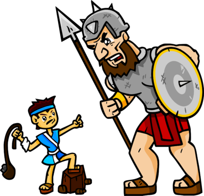 Image: David and Goliath | Christart.com