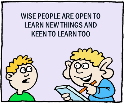 Wise People Learn