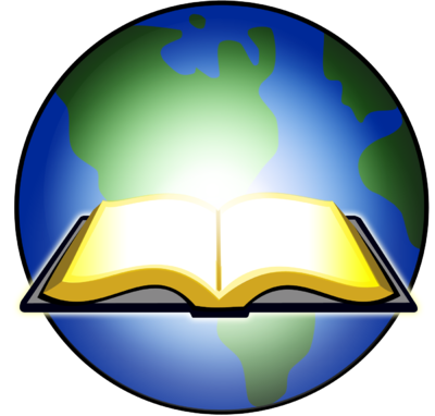 Open Bible Lights Up Globe