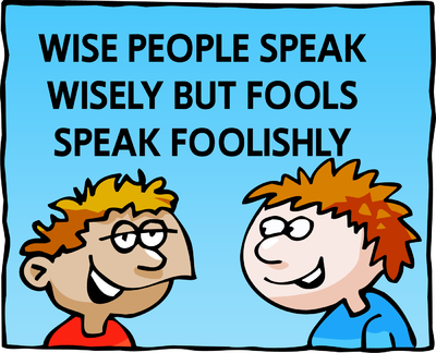 Foolish Speak