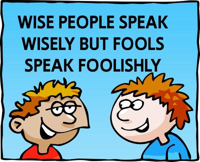 Image download: Foolish Speak | Christart.com