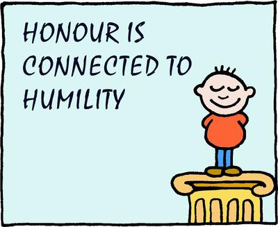 Image download: Honor Humility | Christart.com