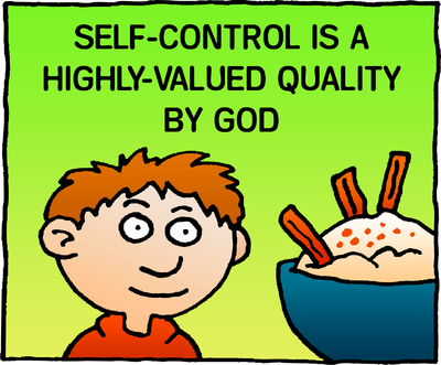 Image download: Self-Control | Christart.com