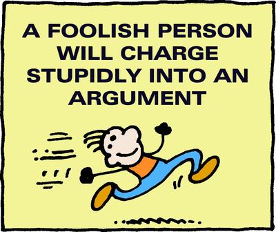 Image download: Foolish Argument | Christart.com