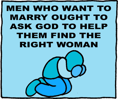 finding the right girl to marry