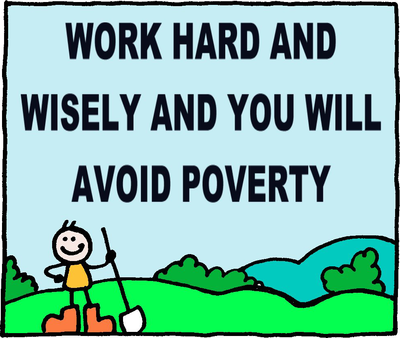 poverty is hard work Start studying introduction to social work and social welfare ch 4: poverty - zastrow 11e learn vocabulary, terms, and more with flashcards, games, and other study tools.