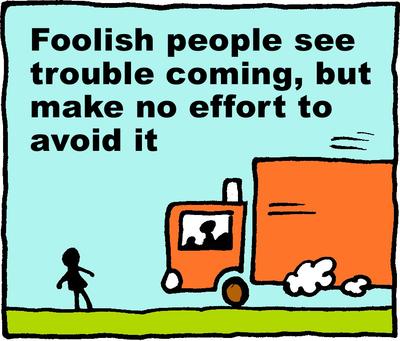 Image download: Foolish Trouble | Christart.com