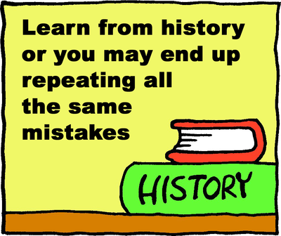 history lesson: