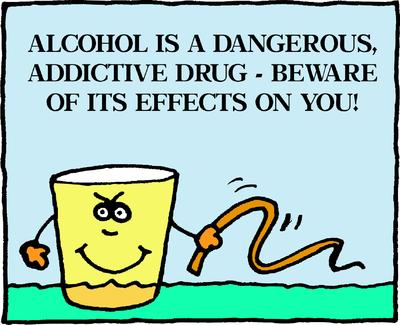 Image download: Alcohol Dangerous | Christart.com