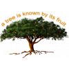 This is a clip art of a strong, healthy tree with lots of fruit hanging from it's branches. The bible says a tree is known by it's fruit, Luke 6.