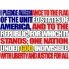 Pledge of Allegiance | 4th of July Clip Art